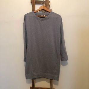 NWT Grey Sweatshirt Dress - small